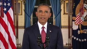 Watch President Obama address the nation on the Islamic State Group thumbnail