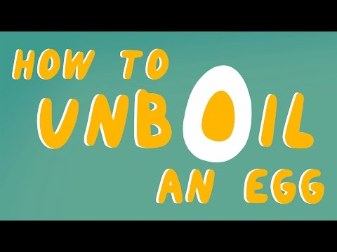 How to unboil an egg - Eleanor Nelsen thumbnail