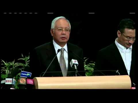 Prime Minister: Flight 370 ended in Southern Indian Ocean thumbnail