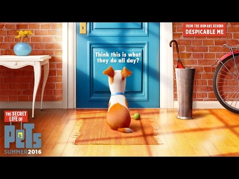 The Secret Life Of Pets - Official Teaser Trailer (HD) - Illumination thumbnail