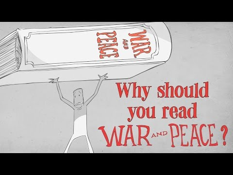 """Why should you read Tolstoy's """"War and Peace""""? - Brendan Pelsue thumbnail"""