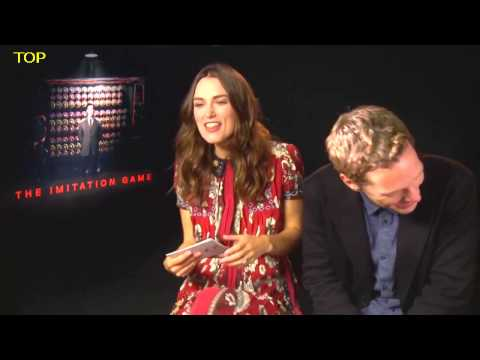Benedict Cumberbatch and Keira Knightley FUNNY INTERVIEW HD thumbnail
