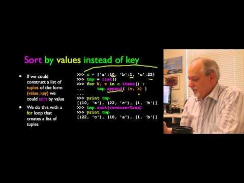 Python for Informatics - Chapter 10 - Tuples thumbnail