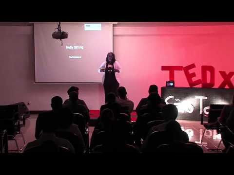 The music held up myself: Nelly Strong at TEDxSãoTomé thumbnail