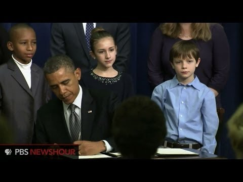 Watch President Obama Announce Proposals for Sweeping Gun Control Legislation thumbnail
