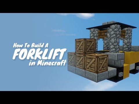 How To Build A Forklift In Minecraft thumbnail