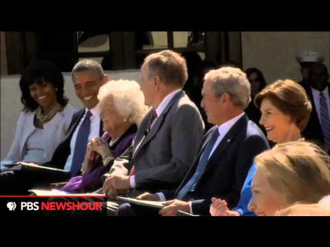 Watch President Bill Clinton speak at the Dedication of the George W. Bush Library thumbnail