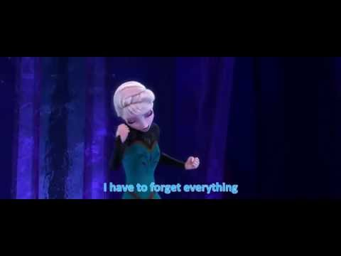 Let it go Russian with English subtitles thumbnail