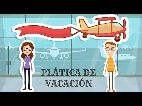 Español   Vuelta de las vacaciones   Charla en el avión thumbnail