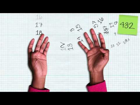 How high can you count on your fingers? (Spoiler: much higher than 10) - James Tanton thumbnail