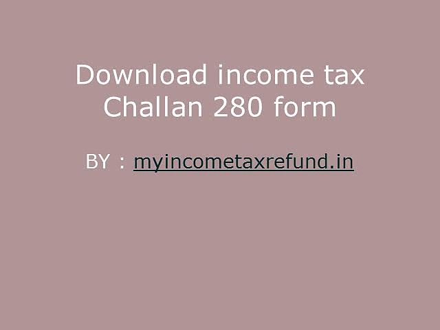 Income Tax forms 16 60 15G 15H / Challan 280 in Excel/Fillable Format
