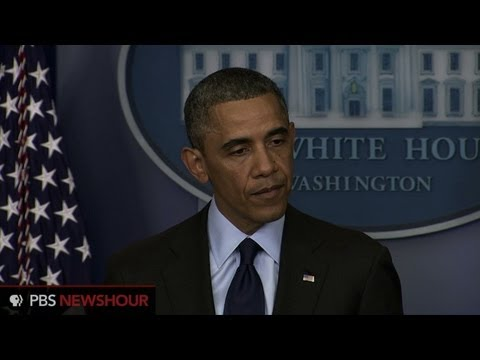 Watch President Obama's Statement Following Arrest of Bombing Suspect thumbnail