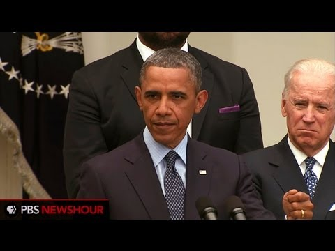"President Obama: Gun Lobby and Allies ""Willfully Lied About the Bill"" thumbnail"