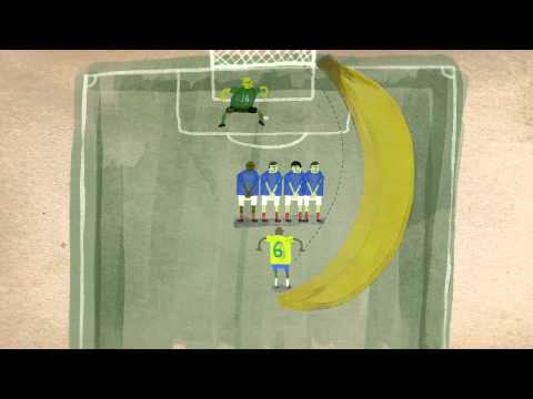 "Football physics: The ""impossible"" free kick - Erez Garty thumbnail"