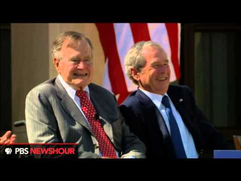 Watch President George H.W. Bush at the Dedication of the Bush Presidential Library thumbnail