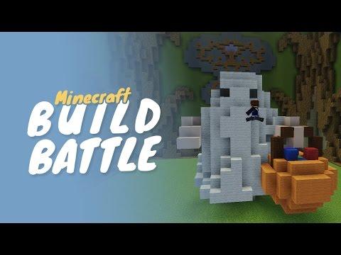 Minecraft :: Build Battle :: GHOSTLY GHOST (w/ Pixlriffs) thumbnail