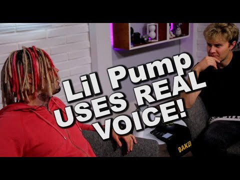 lil pump uses real voice exclusive interview with subtitles amara