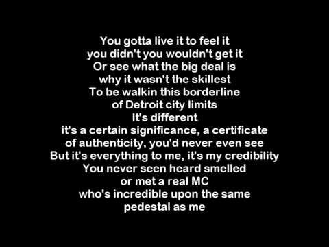 Freestyle rap lyrics