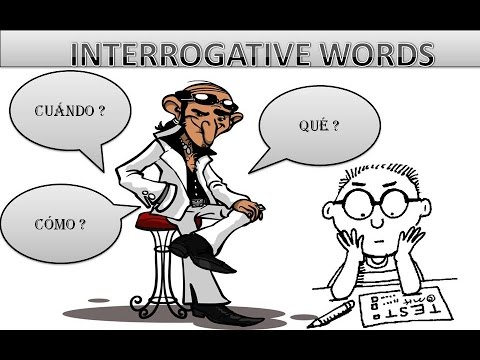 Spanish interrogative words thumbnail
