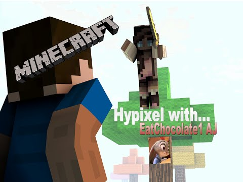 Minecraft: Hypixel Fun with EatChocolate1 AJ and Guntherrox AJ! thumbnail