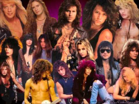 80s hair bands