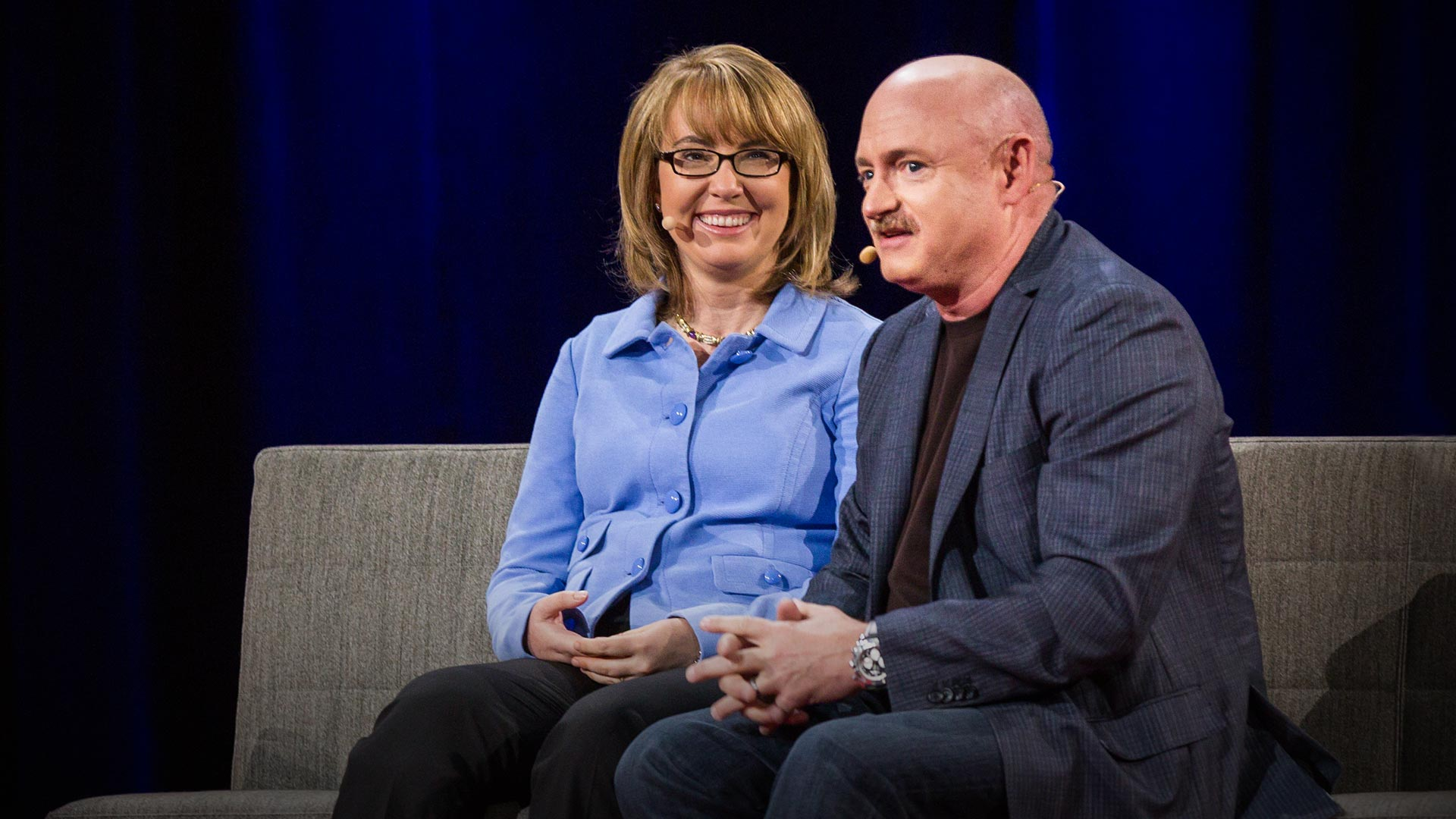 Gabby Giffords and Mark Kelly: Be passionate. Be courageous. Be your best. thumbnail