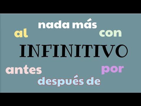 Spanish Infinitive   Shortening of sentence thumbnail