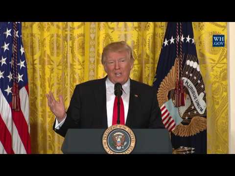 President Trump Holds a Press Conference thumbnail