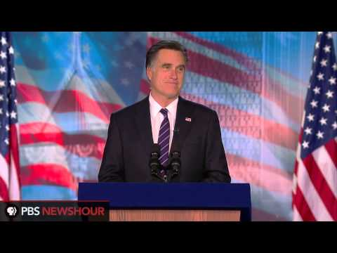 Mitt Romney Concedes Presidential Race to Pres. Obama thumbnail