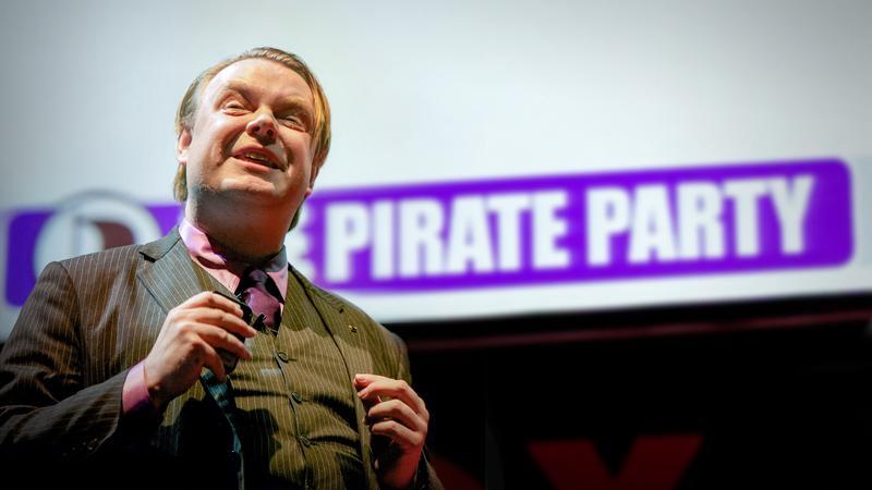 Rick Falkvinge: I am a pirate thumbnail
