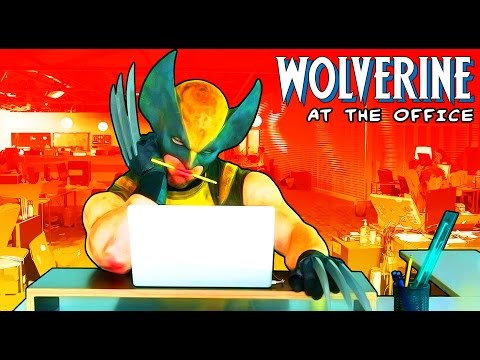Wolverine at the Office Episode 2 thumbnail