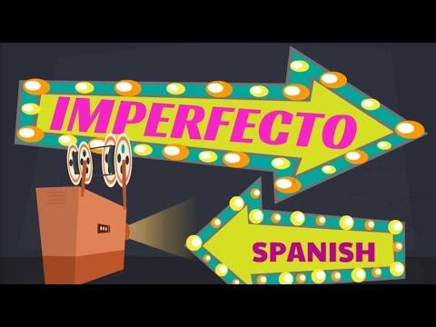 Imperfecto Spanish Past tense thumbnail