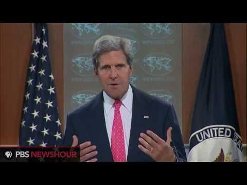 "Secretary of State John Kerry: Use of Chemical Weapons in Syria ""Undeniable"" thumbnail"