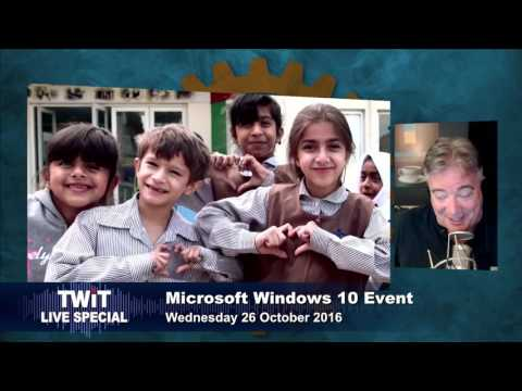 TWIT Live Specials 309 Microsoft's Windows 10 and Surface Announcement thumbnail