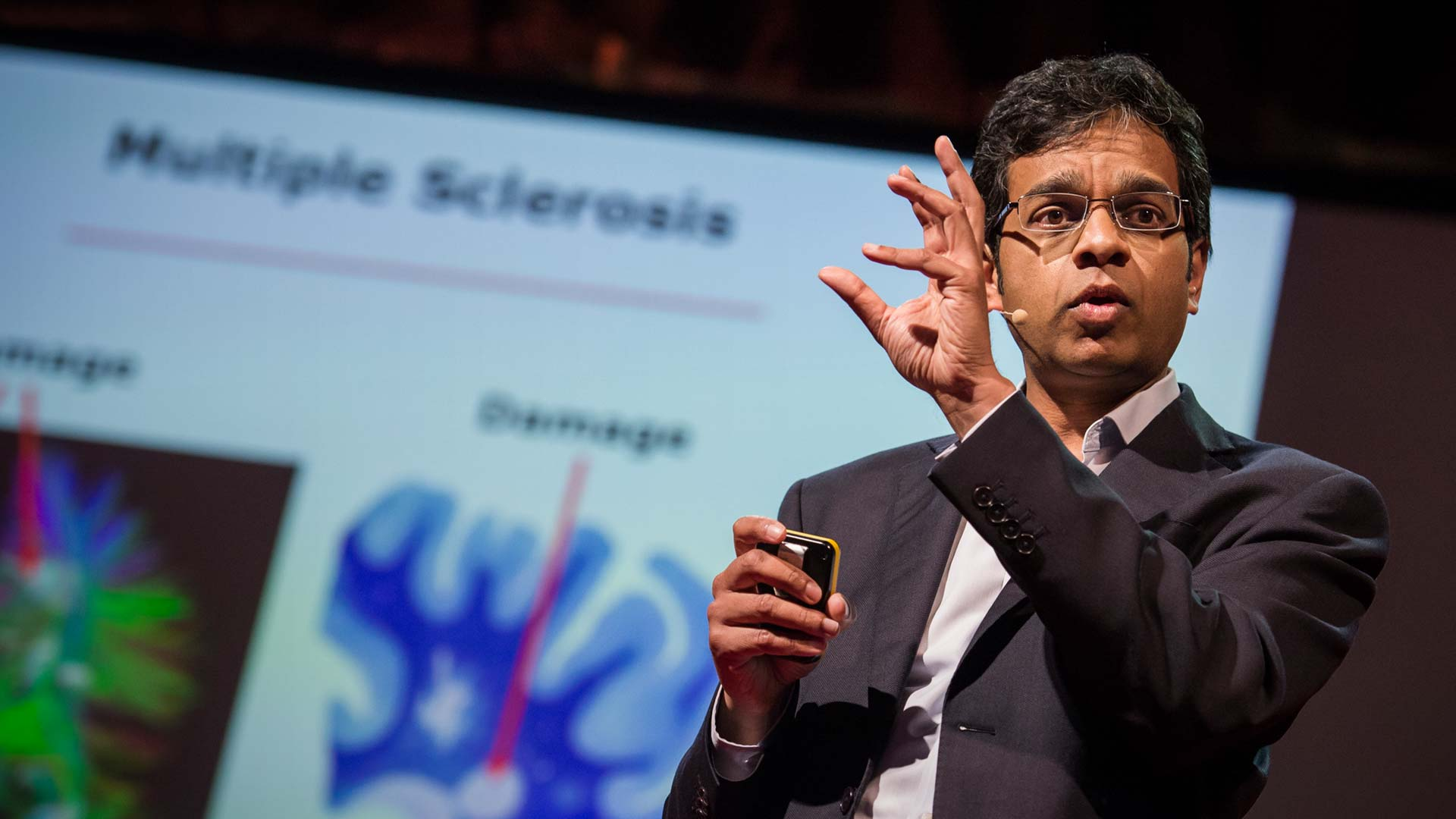 Siddharthan Chandran: Can the damaged brain repair itself? thumbnail