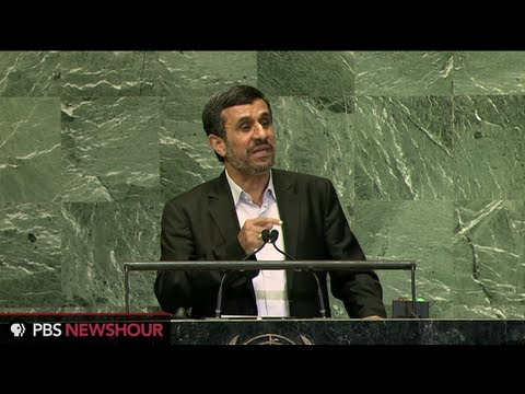 Watch Iranian President Mahmoud Ahmadinejad Address the U.N. thumbnail