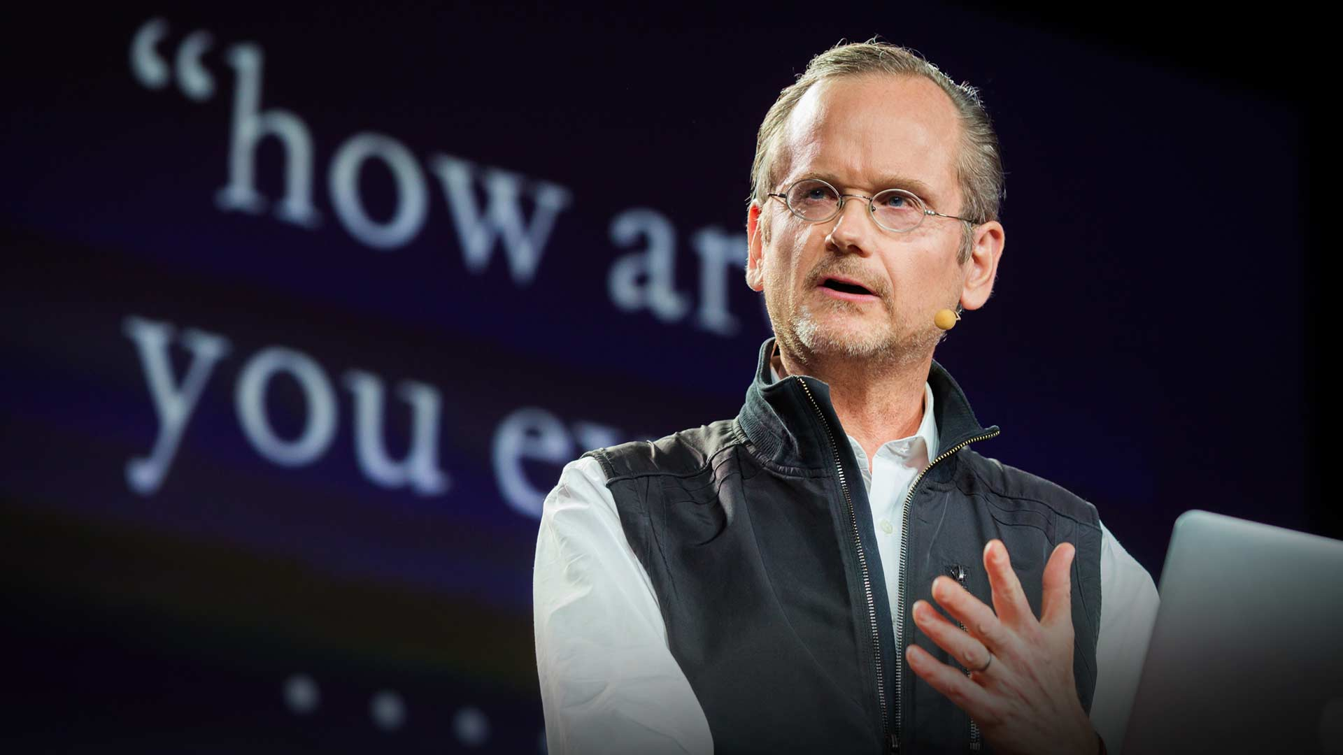 Lawrence Lessig: The unstoppable walk to political reform thumbnail