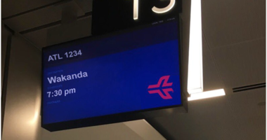 Flights Available To Wakanda From Hartsfield Jackson International