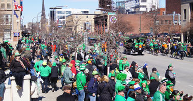 PHOTOS/VIDEO:  St. Patrick's Day in Buffalo