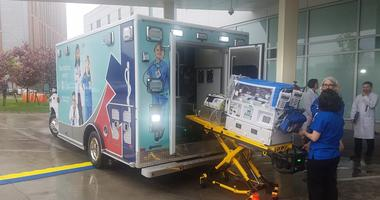 State of the Art Ambulance For Neonatal Transport Team