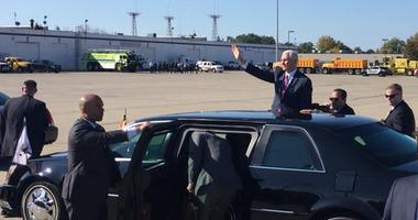 Vice President Pence's Arrival in Buffalo