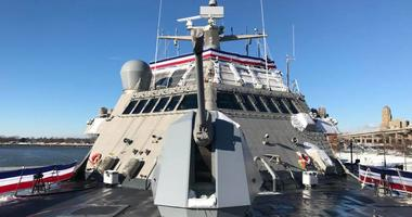VIDEO - Complete USS Little Rock Commissioning