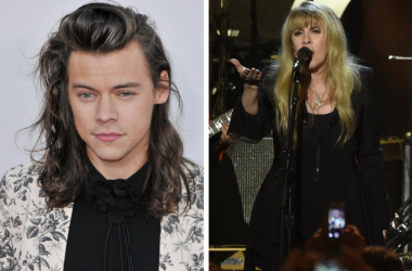 Harry Styles at the 2015 American Music Awards held at the Microsoft Theatre / Tom Petty and Stevie Nicks at the 2017 MusiCares Person of the Year Dinner at the Los Angeles Convention Center