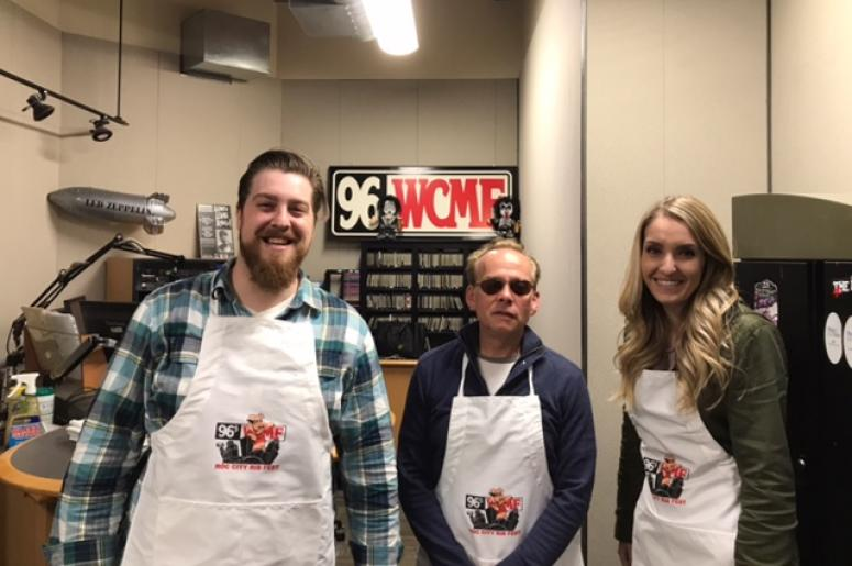The Break Room\'s Big Announcement! | 96.5 WCMF