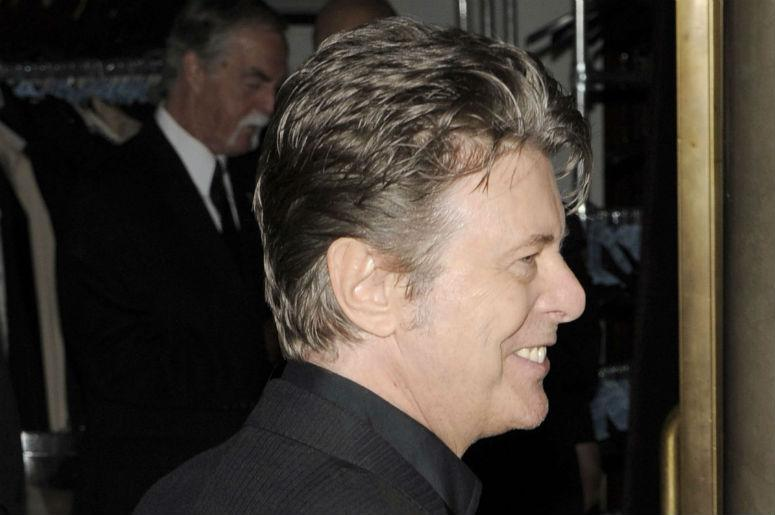 Singer David Bowie attends the 5th annual DKMS Gala on April 28, 2011, at Cipriani Wall Street in New York City., 2011, in New York, NY.