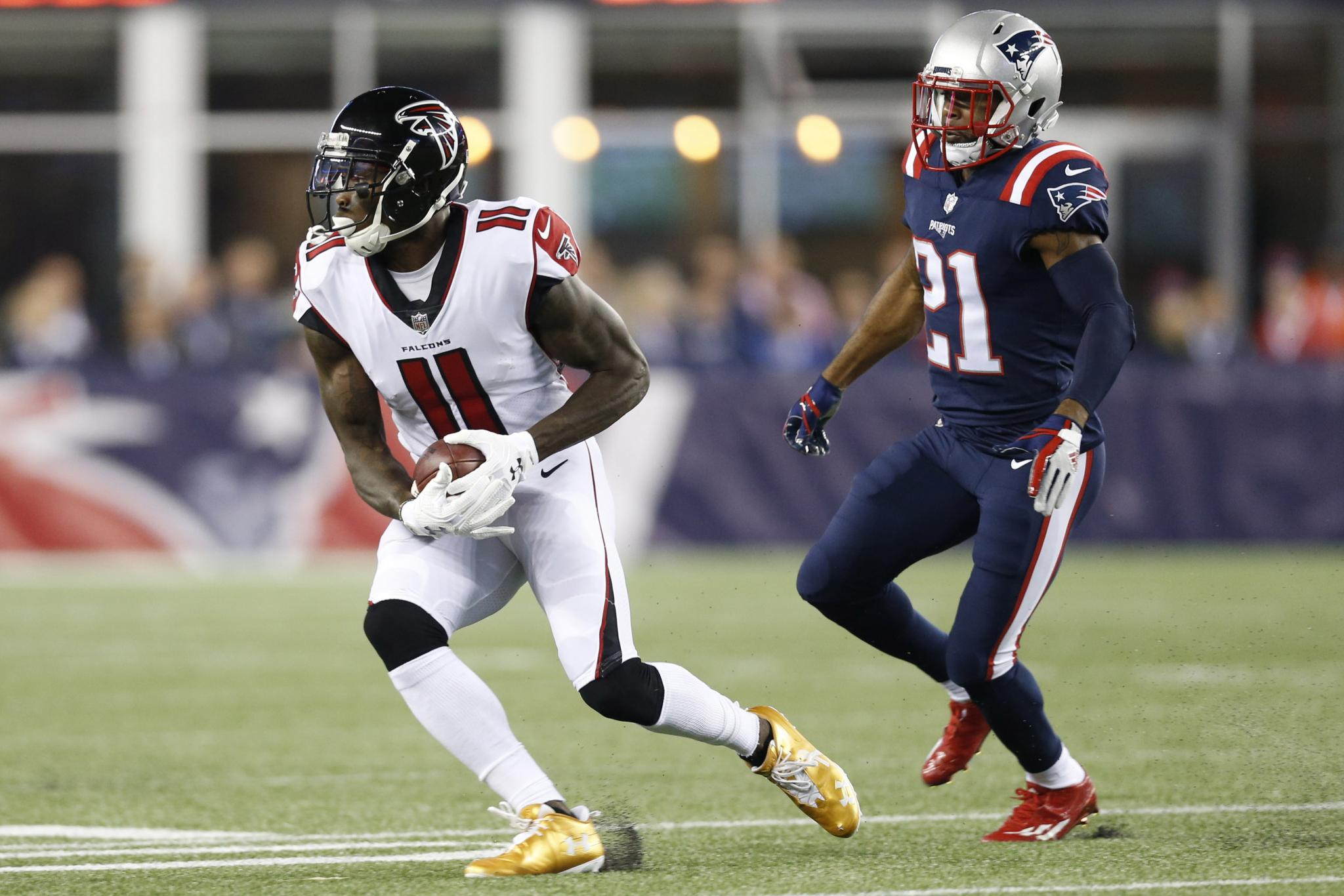 Julio Jones Crazy Patriots would set off fireworks after