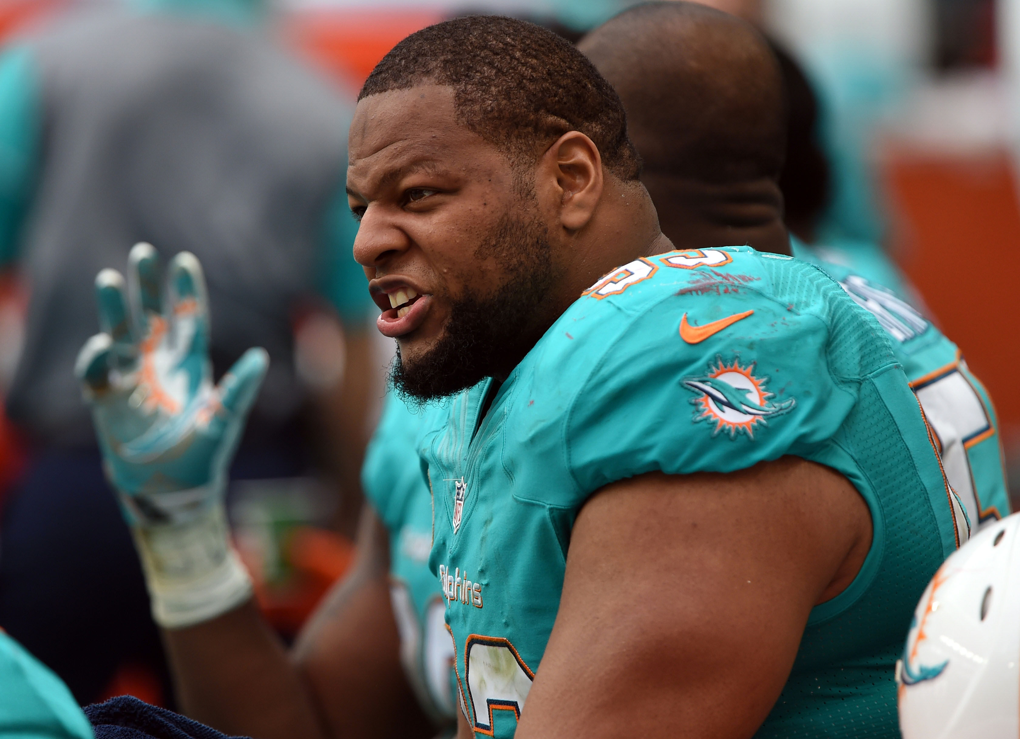 Ndamukong Suh Patriots wanted to run away from me