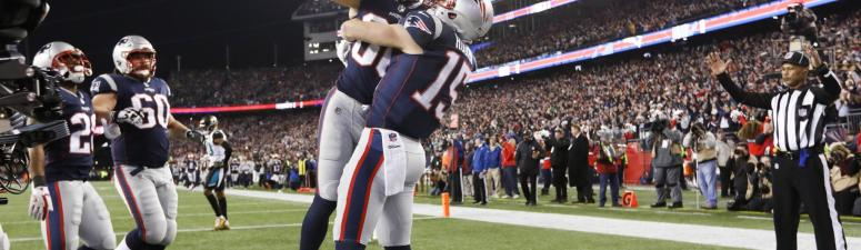 Patriots-Jaguars was highest-rated show on TV since last year's Super Bowl