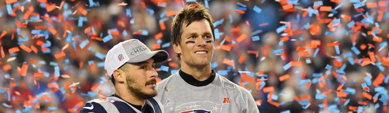 Tom Brady and Danny Amendola