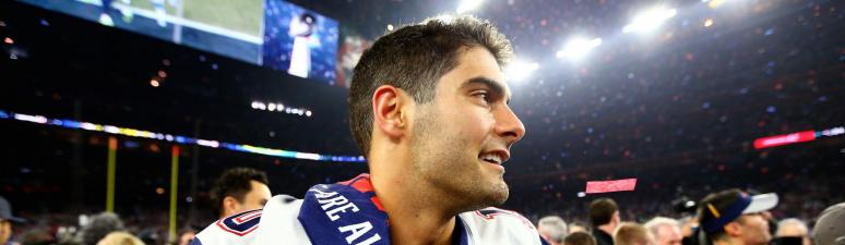 Jimmy Garoppolo the reason for Cardinals' subpar 2016 season?